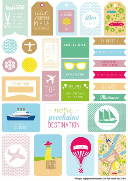 photo relating to Printable Freebie identified as Freebie Printable Drive Themed Labels within French S