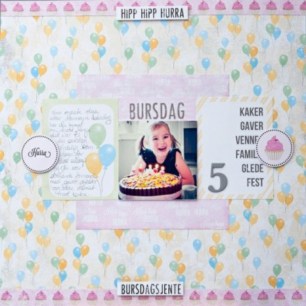 Inspiration du Jour - Birthday by lillesmor