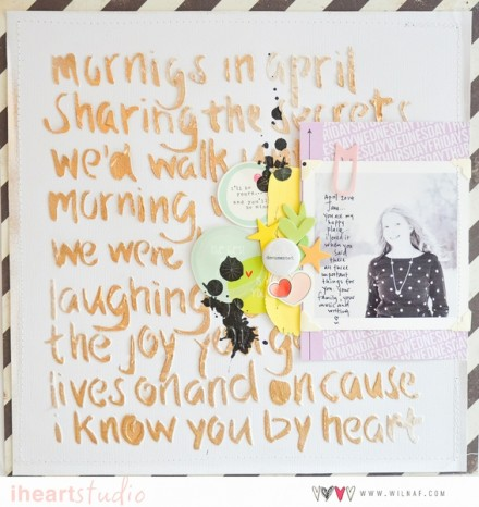 Inspiration du Jour - I Know You by Wilna