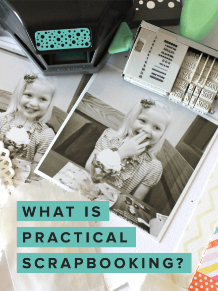 Practical Scrapbooking at Simple Scrapper