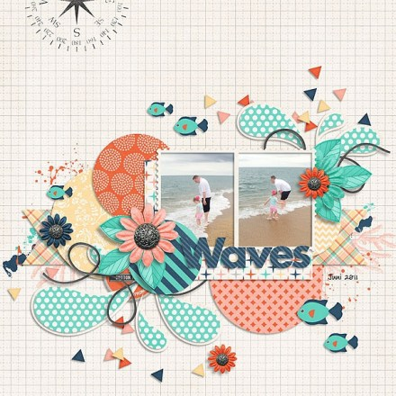Inspiration du Jour - Waves by wonderofmylife