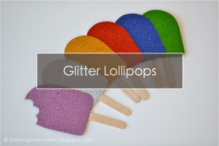 Tutorial - Summer Lollipop Embellishments by The Things She Makes
