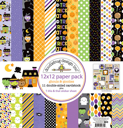 Doodle Bug Designs - Ghouls and Goodies Halloween Collection