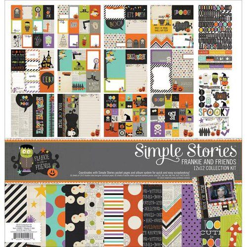 Simple Stories - Frankie and Friends Halloween Collection