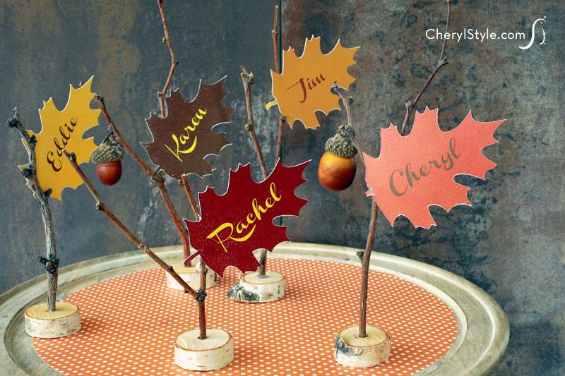 Freebie - printable-leaf-place-cards-cherylstyle-H
