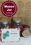 Freebie | Christmas Mason Jar Labels and Printables