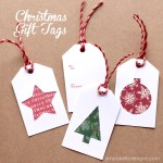 Tutorial | Christmas Gift Tags  And Free Cut File