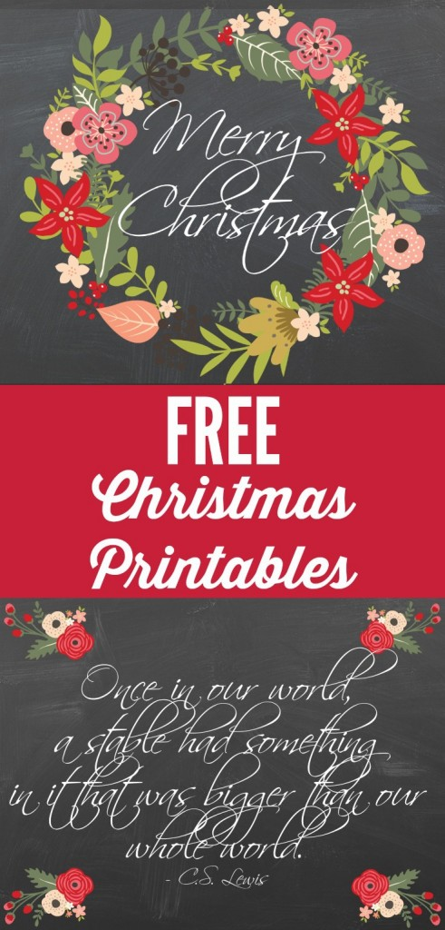 Persnickety image in free printable christmas