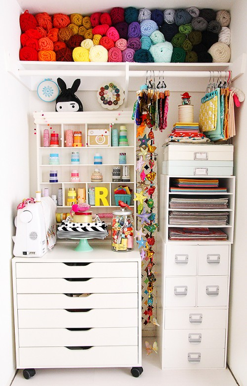12 Ideas To Organize Your Scrap Room This Weekend Scrap