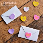 Freebie | Printable Love Coupon Envelopes