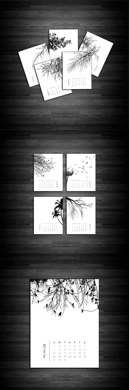 Tree 2015 Calendar from Vanessa Quijano
