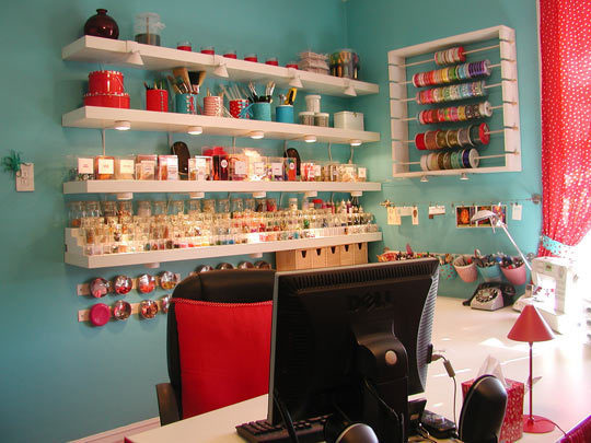 14 Ideas To Help You Organize Your Craft Room