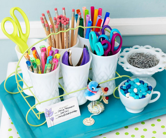 28 quick clever ideas for organizing craft supplies for Craft supplies organization ideas