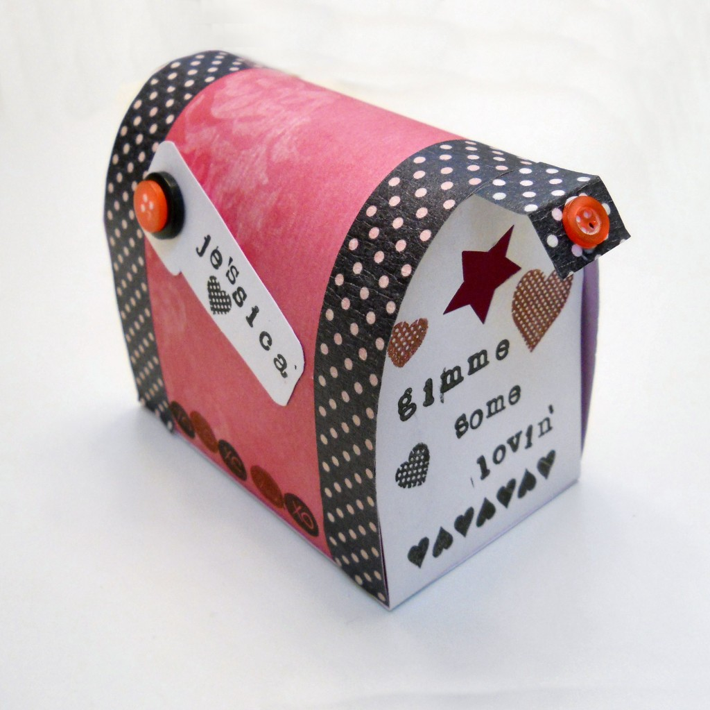 Mailbox Ideas For Valentines Day Scrap Booking - Mailbox label template