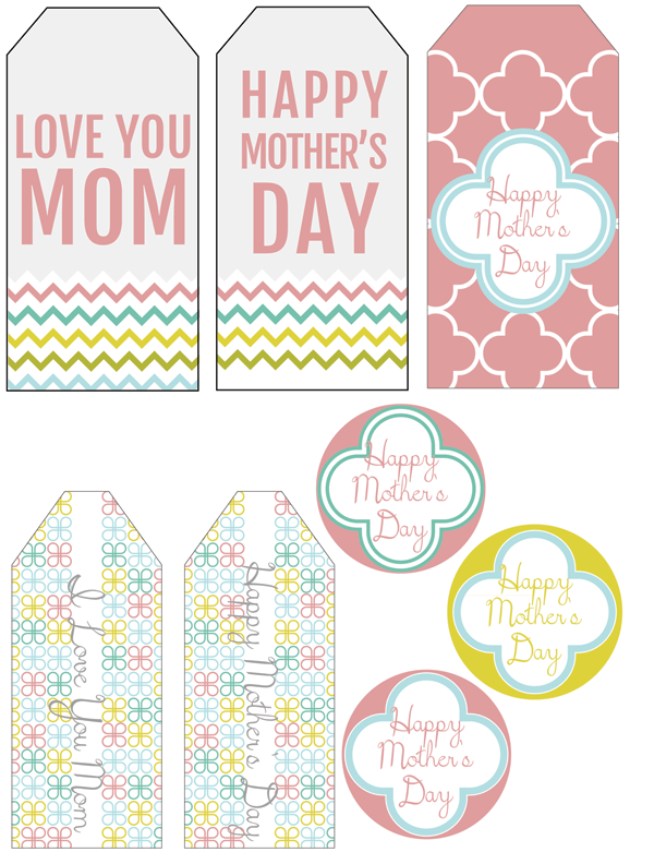 freebie printable mother s day gift tags scrap booking. Black Bedroom Furniture Sets. Home Design Ideas