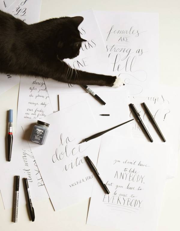 A Primer For Lettering Calligraphy Scrap Booking