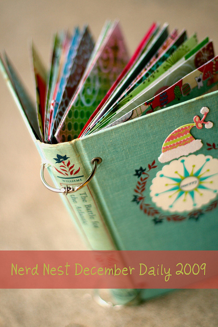 December Daily Journal at The Nerd Nest