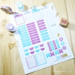 Freebie | Academic Planner Stickers
