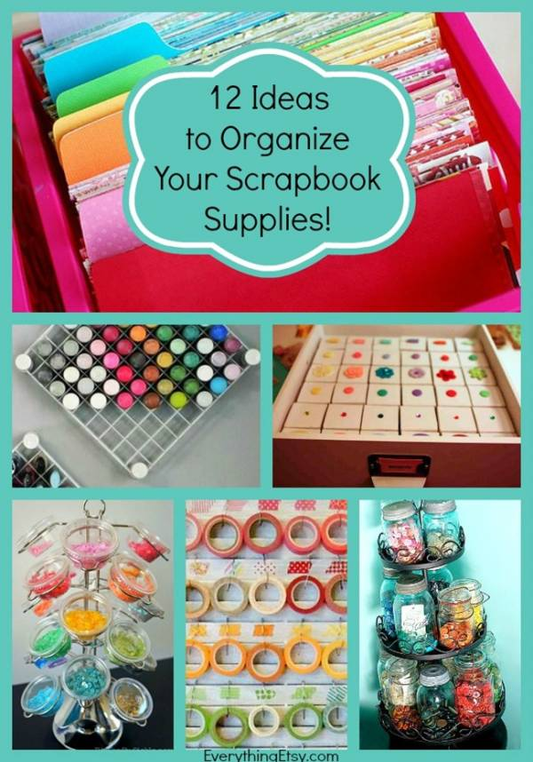 Organize-Your-Scrapbook-Supplies-With-These-12-Awesome-Ideas-EverythingEtsy
