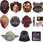 Star Wars Halloween Masks and Pumpkin Carving Stencils