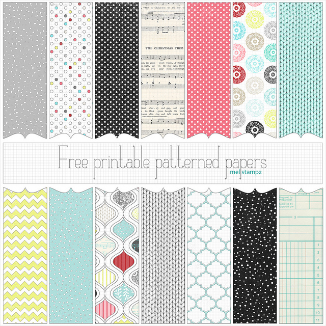 image regarding Free Printable Pattern Paper called Totally free Xmas Printable or Electronic Patterned Papers S
