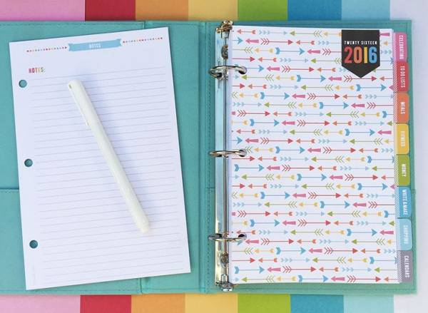 Everyday Planner from Miss Tina
