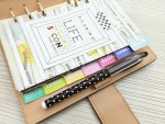 How To Make Your Own Rainbow Divider Tabs for Your Planner