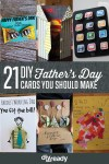 21 DIY Ideas for Father's Day Cards