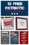 12 of the Best Free Printables for July 4th