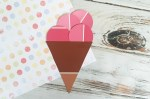 DIY | Ice Cream Paint Chip Craft