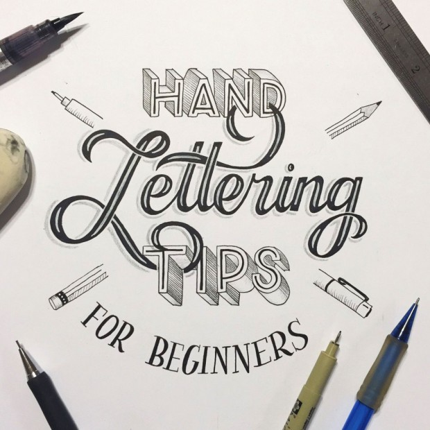hand lettering for beginners a guide to getting started With hand lettering tools for beginners
