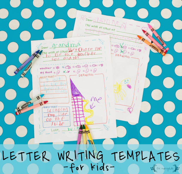 image about Letter Writing Template for Kids titled Totally free Printable Letter Composing Templates S Reserving