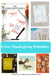 6 Free Thanksgiving Printables