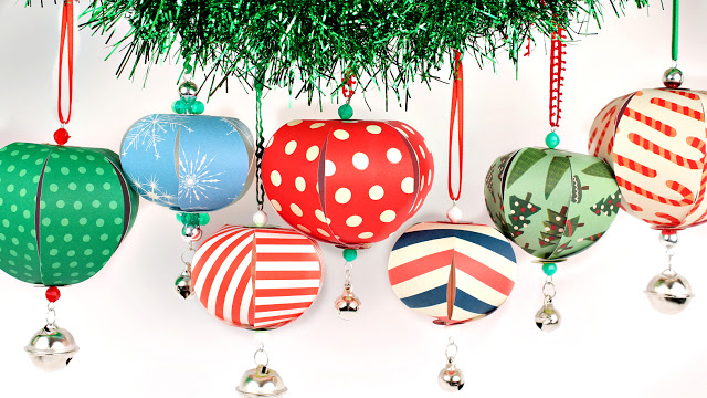 Attractive Tutorial | Easy Paper Christmas Ornaments