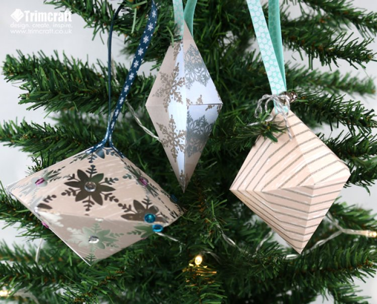 DIY Christmas Baubles with Free Printable Templates – Scrap Booking
