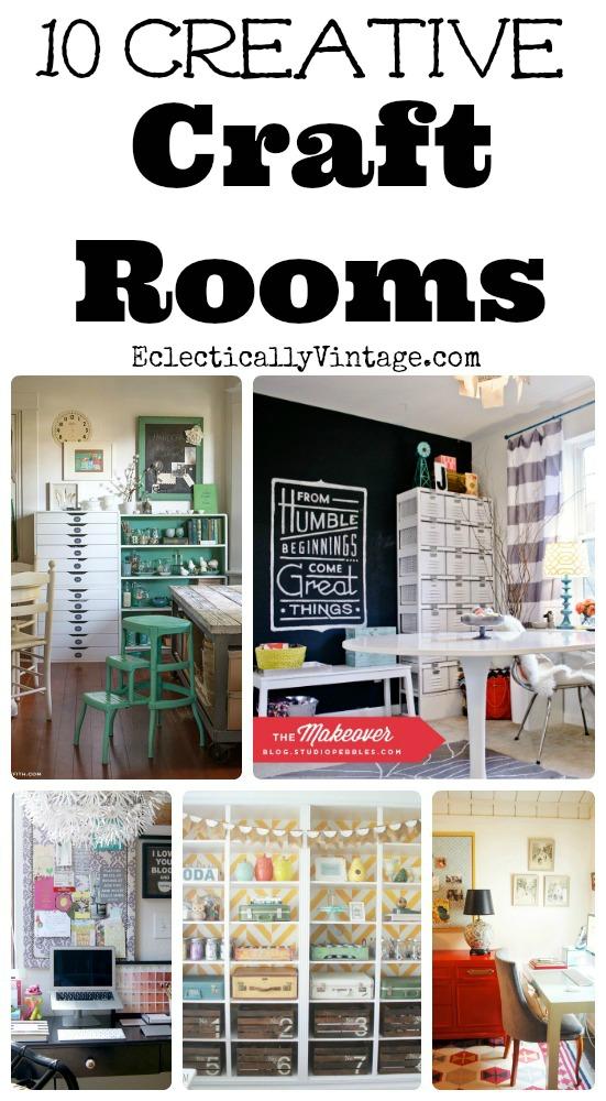 Best Craft Room Designs: Top 10 Creative Craft Rooms