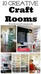 Top 10 Creative Craft Rooms