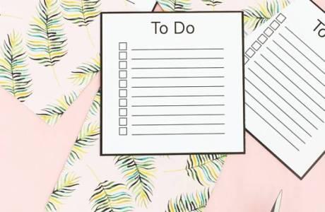 DIY To Do List Cards