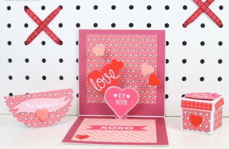 Free Valentine's Day Printables & Tutorial