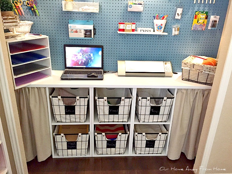 Add More Work Space In The Craft Room – Scrap Booking