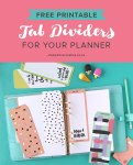 Free Printable Top Tab Dividers