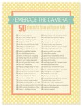 Mother's Day Printables + Embrace the Camera