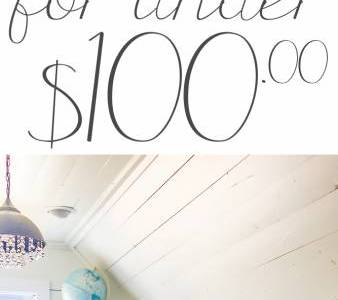 Craft Room Organization for Under $100