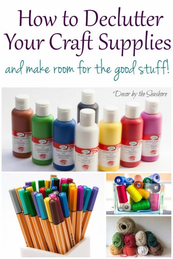 how to declutter your craft supplies and make room for the good stuff scrap booking. Black Bedroom Furniture Sets. Home Design Ideas