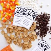 Halloween BOO Mix DIY & Printable Tags