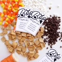 Halloween BOO Mix DIY & Printable Tags