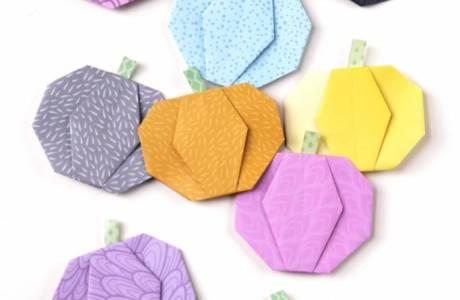 DIY | Origami Pumpkin Embellishments