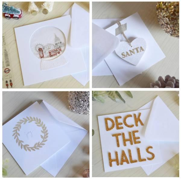 4DIY Christmas Card Ideas