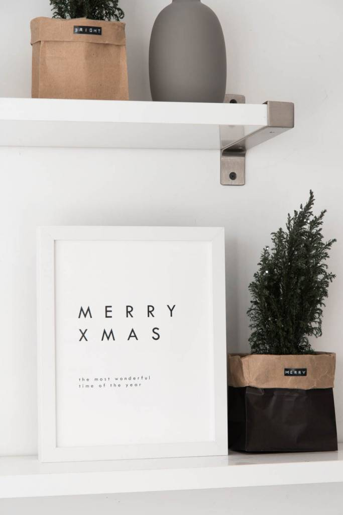 Minimalist Christmas Print for Home Decor or Scrapbooking – Scrap ...
