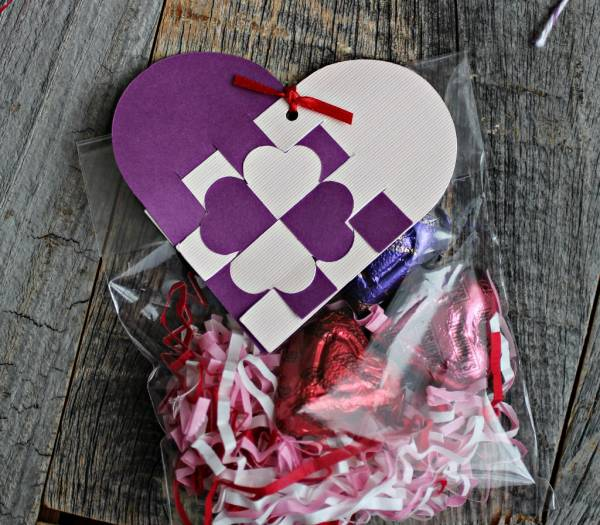 DIY Paper Valentine Hearts + Cutting Template